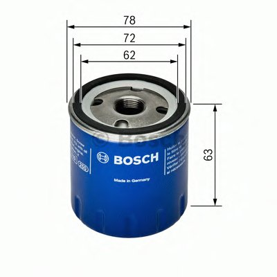 0451103141 BOSCH Масляный фильтр