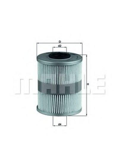 KX206D KNECHT Топливный фильтр