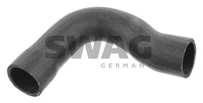 SWAG 20932640 Патрубок радиатора верхний BMW E E39
