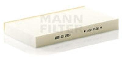 CU2951 MANN-FILTER Фильтр, воздух во внутренном пространстве