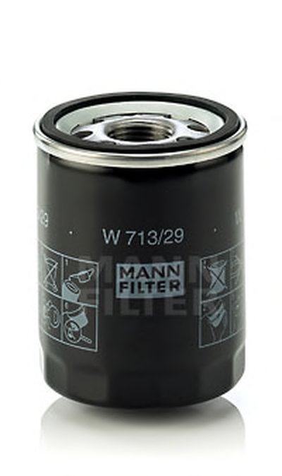 W71329 MANN-FILTER Масляный фильтр