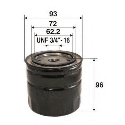 586063 VALEO Масляный фильтр