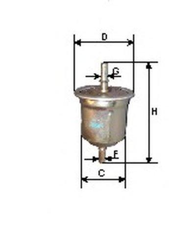 FG505 GOODWILL Топливный фильтр