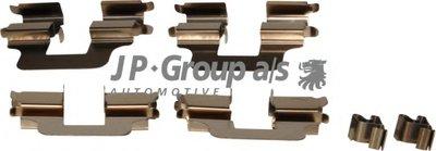 Комплектующие, колодки дискового тормоза JP Group JP GROUP купить