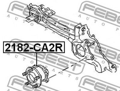Ступица Задняя В Сборе FEBEST 2182CA2R для авто  с доставкой-1