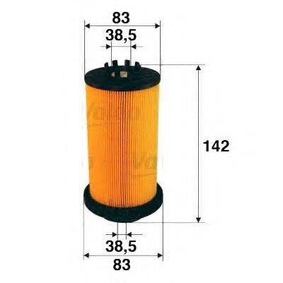 587909 VALEO Топливный фильтр