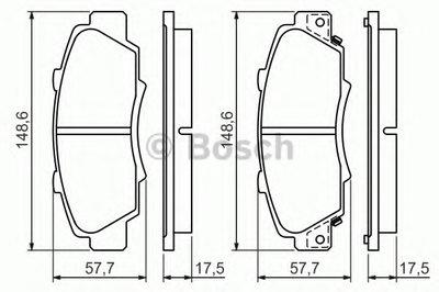 Гальмівні колодки дискові HONDA NSX/Accord/Prelude/CR-V/HR-V/ROVER 600 -05