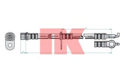 Автозапчасть/Шланг тормозной 8545136 NK 8545136 для авто TOYOTA с доставкой