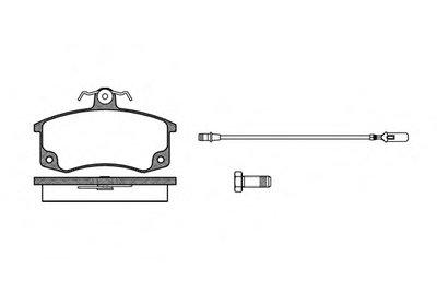 Колодки Торм.дисковые Lada 2110 ROADHOUSE 222102 для авто LADA с доставкой