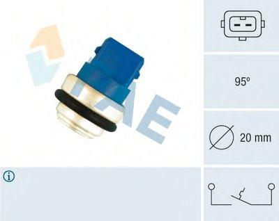 термовыключатель, сигнальная лампа охлаждающей жидкости FAE 35635 для авто VW с доставкой