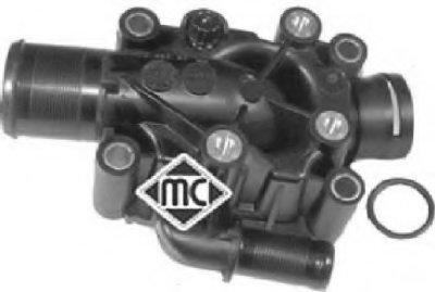 Корпус термостата 1,4/1,6 16V Citroen Berlingo, С3, C4 / Peugeot Partner,207,307 (03778) Metalcaucho