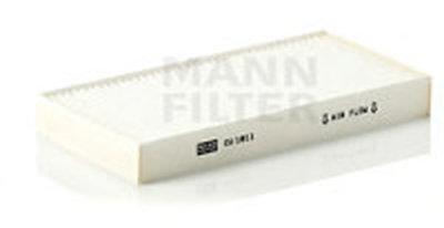 CU18112 MANN-FILTER Фильтр, воздух во внутренном пространстве