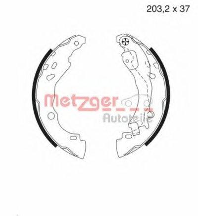 Комплект тормозных колодок METZGER купить