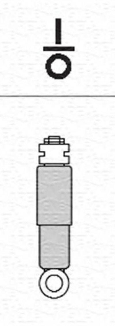 6144G Амортизатор MAGNETI MARELLI 356144070000 для авто RENAULT с доставкой