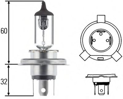 Лампа накаливания, фара дальнего света; Лампа накаливания, основная фара; Лампа накаливания, противотуманная фара; Лампа накаливания; Лампа накаливания, основная фара HELLA купить