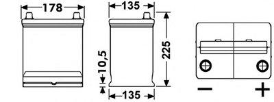 Стартерная аккумуляторная батарея; Стартерная аккумуляторная батарея EXCELL ** EXIDE купить