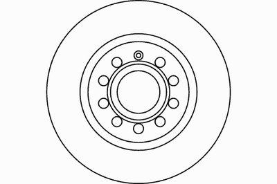 92120705 TEXTAR Тормозной диск