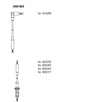 Комплект проводов зажигания BREMI купить