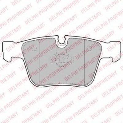 Тормозные Колодки DELPHI LP2115 для авто MERCEDES-BENZ с доставкой