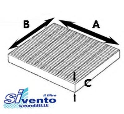 Фильтр, воздух во внутренном пространстве SIVENTO купить