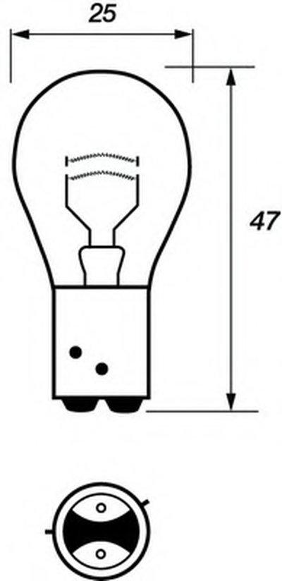 Лампа накаливания, фонарь сигнала торможения; Лампа накаливания, задняя противотуманная фара; Лампа накаливания, задний гарабитный огонь MOTAQUIP купить