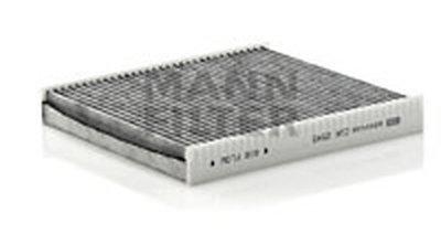 CUK2545 MANN-FILTER Фильтр, воздух во внутренном пространстве