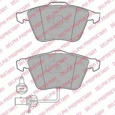 Тормозные колодки DELPHI LP1922 для авто AUDI с доставкой