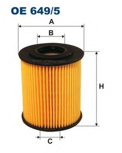 OE6495 FILTRON Масляный фильтр