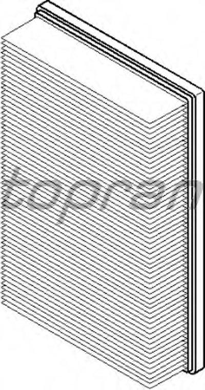 302127 TOPRAN Воздушный фильтр