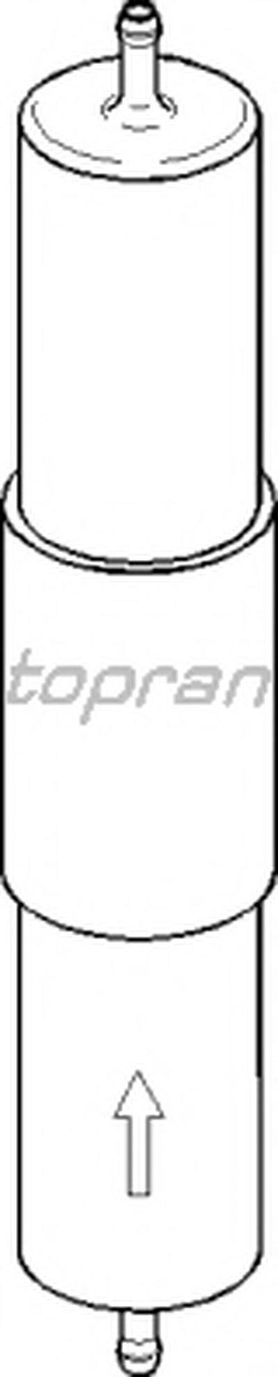 Топливный фильтр TOPRAN купить