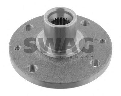 SWAG 60932376 Ступица переднего колеса Dacia LOGAN, SANDERO