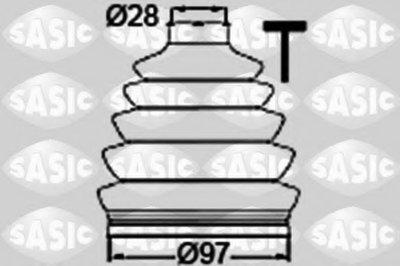 Автозапчасть/Пыльник ШРУСа внешний skoda octavia SASIC 1906061 для авто AUDI, SEAT, SKODA, VW с доставкой