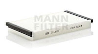 CU3020 MANN-FILTER Фильтр, воздух во внутренном пространстве
