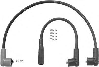 ZEF760 BERU Провода высоковольтные, комплект