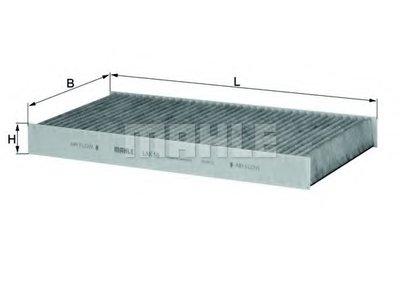 LAK56 KNECHT Фильтр, воздух во внутренном пространстве