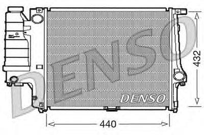 Радиатор, охлаждение двигателя DENSO купить
