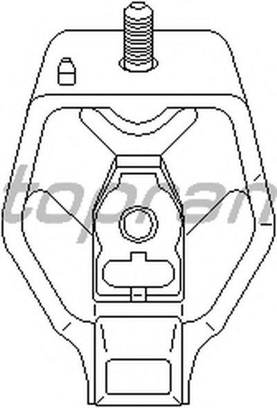 Кріплення коробки передач