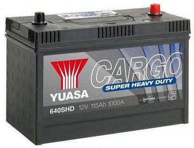 Стартерная аккумуляторная батарея Cargo Super Heavy Duty Batteries (SHD) YUASA купить