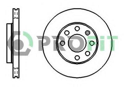 50101279 PROFIT Тормозной диск