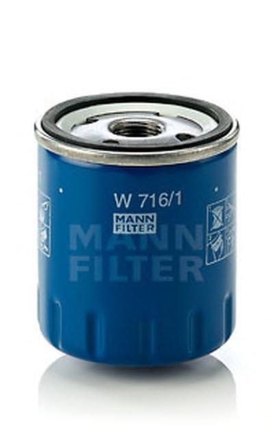 W7161 MANN-FILTER Масляный фильтр