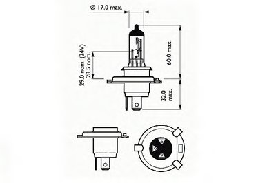 Лампа накаливания, фара дальнего света; Лампа накаливания, основная фара; Лампа накаливания, противотуманная фара; Лампа накаливания, основная фара; Лампа накаливания, фара дальнего света; Лампа накаливания, противотуманная фара Basic SCT Germany купить