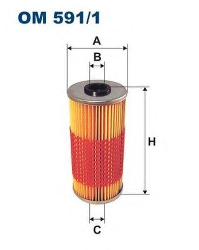 OM5911 FILTRON Масляный фильтр