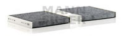 CUK19004 MANN-FILTER Фильтр, воздух во внутренном пространстве