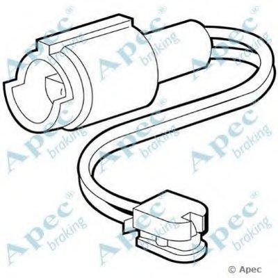 Указатель износа, накладка тормозной колодки APEC braking купить