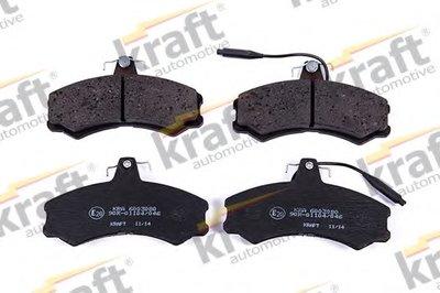 Комплект тормозных колодок, дисковый тормоз KRAFT AUTOMOTIVE купить