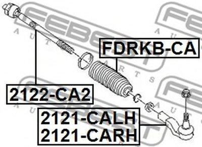 Наконечник Рулевой Правый FEBEST 2121CARH для авто LAND ROVER с доставкой