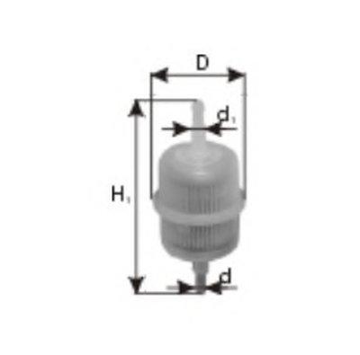 Топливный фильтр; Фильтр, система вентиляции картера