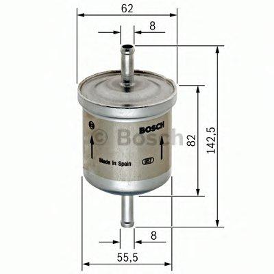 0450902161 BOSCH Топливный фильтр