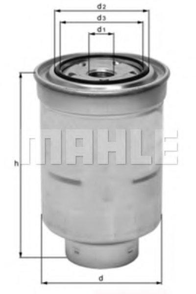 KC135D MAHLE ORIGINAL Топливный фильтр -1