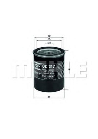 OC217 KNECHT Масляный фильтр